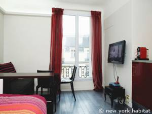 Paris Studio accommodation - Apartment reference PA-4143