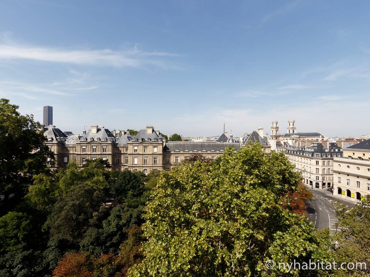 logement paris location meubl e t3 luxembourg pa 4153. Black Bedroom Furniture Sets. Home Design Ideas