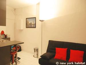 Paris Studio apartment - living room (PA-4170) photo 5 of 6
