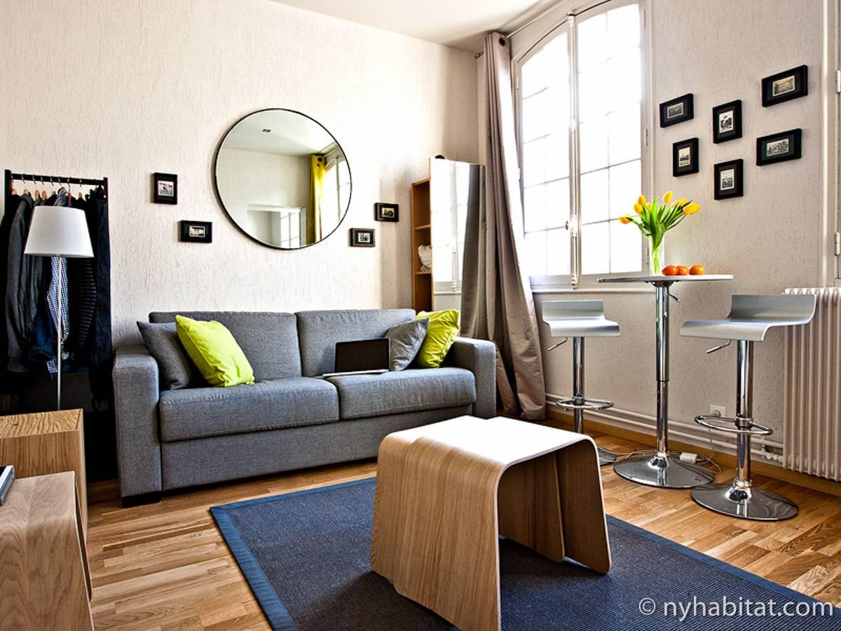 logement paris location meubl e studio t1 le marais pa 4172. Black Bedroom Furniture Sets. Home Design Ideas