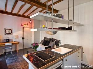 Paris Alcove Studio apartment - kitchen (PA-4180) photo 1 of 4