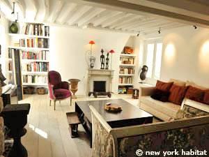 Paris Accommodation 3 Bedroom Loft Duplex Apartment Rental In Le Marais P