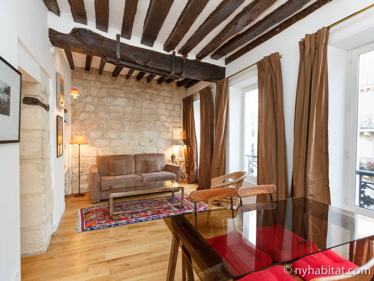paris apartment: 1 bedroom apartment rental in saint sulpice
