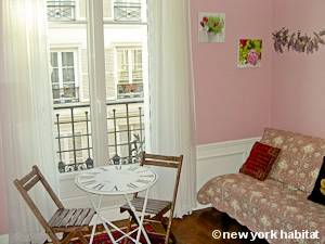 Paris Studio T1 logement location appartement - séjour (PA-4263) photo 4 sur 10