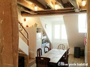 Paris T4 - Loft - Triplex appartement location vacances - cuisine (PA-4264) photo 2 sur 2