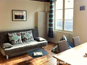 Paris Alcove Studio apartment - living room (PA-4266) photo 2 of 8