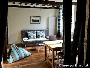 Paris Alcove Studio apartment - living room (PA-4266) photo 1 of 8