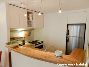 Paris T2 appartement location vacances - cuisine (PA-4268) photo 2 sur 3