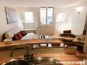 Paris - 1 Bedroom apartment - Apartment reference PA-4268
