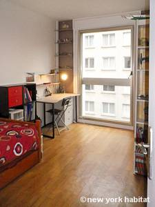 Paris T3 logement location appartement - chambre 2 (PA-4269) photo 2 sur 2