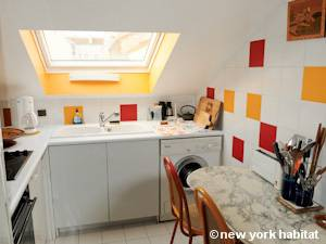 Paris T3 - Duplex appartement location vacances - cuisine (PA-4270) photo 2 sur 2