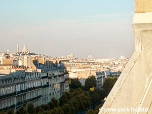Paris Studio T1 logement location appartement - séjour (PA-4277) photo 8 sur 8