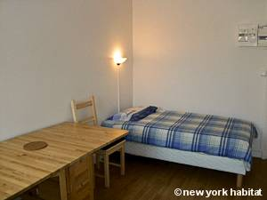 Paris Studio T1 logement location appartement - séjour (PA-4277) photo 1 sur 8