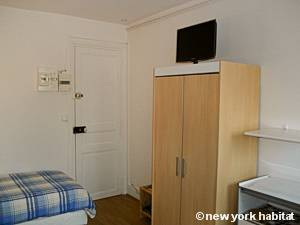 Paris Studio T1 logement location appartement - séjour (PA-4277) photo 4 sur 8