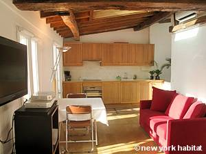 Paris Studio T1 logement location appartement - séjour (PA-4282) photo 3 sur 6