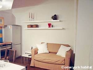 Paris Alcove Studio apartment - living room (PA-4290) photo 1 of 12