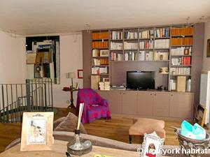 Paris 3 Bedroom - Duplex accommodation - living room (PA-4308) photo 2 of 4