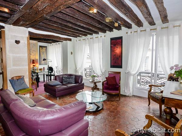 Paris - 3 Bedroom accommodation - Apartment reference PA-4347