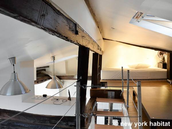 Paris Apartment: 1 Bedroom Loft Apartment Rental in Canal Saint ...