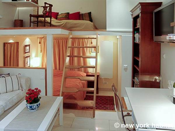 Paris Apartment Alcove Studio Loft Apartment Rental In Bourse Pa