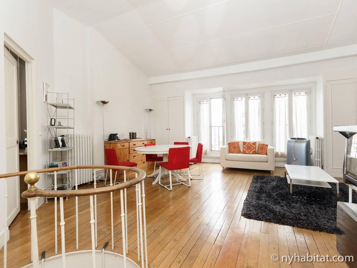 logement paris location meubl e t2 passy pa 4455. Black Bedroom Furniture Sets. Home Design Ideas