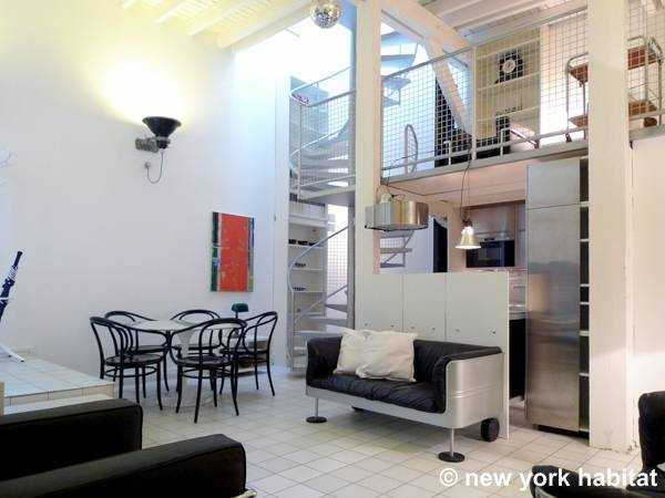 Paris Apartment: 3 Bedroom Loft - Duplex Apartment Rental in Latin ...