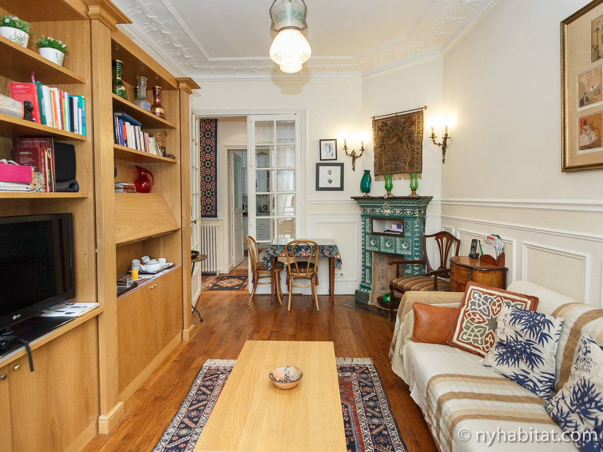 Paris - 1 Bedroom accommodation - Apartment reference PA-4648