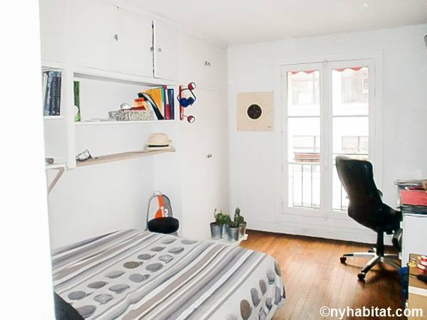 Paris T3 appartement location vacances - chambre 1 (PA-4674) photo 1 sur 1