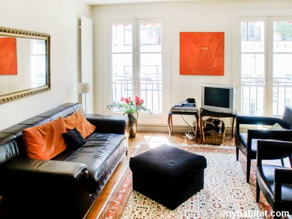 Paris 2 Bedroom accommodation - Apartment reference PA-4674