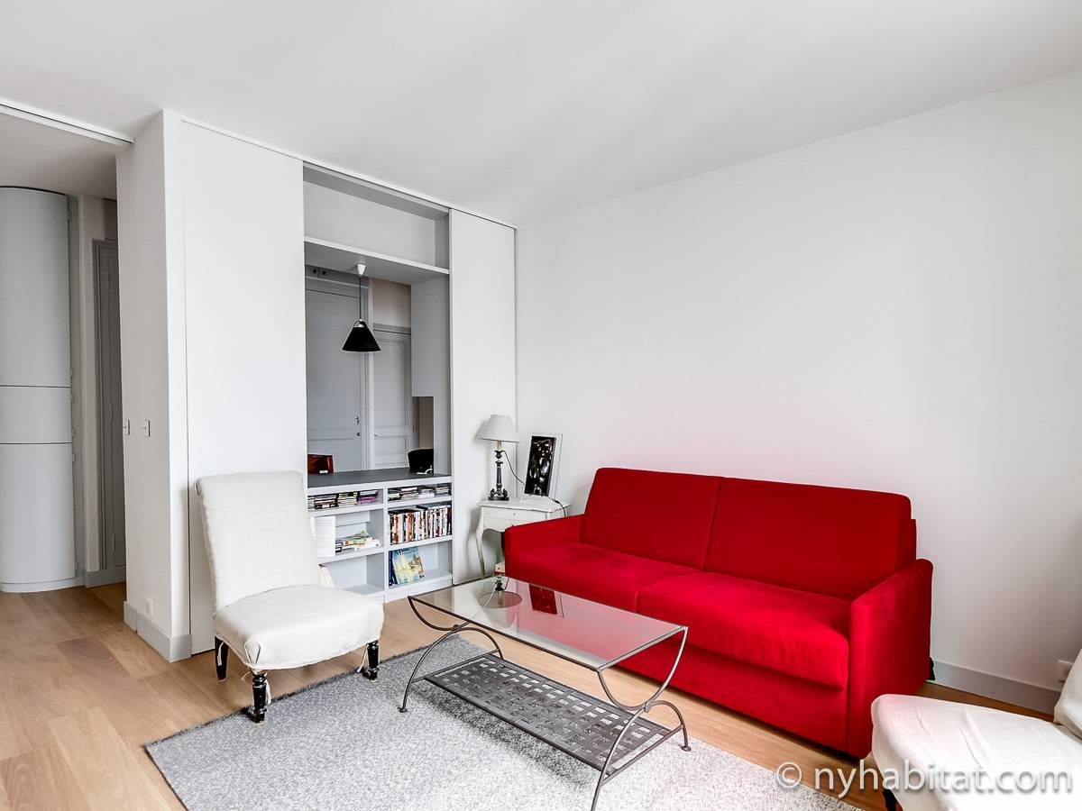Paris 1 Bedroom accommodation - living room (PA-4685) photo 1 of 4