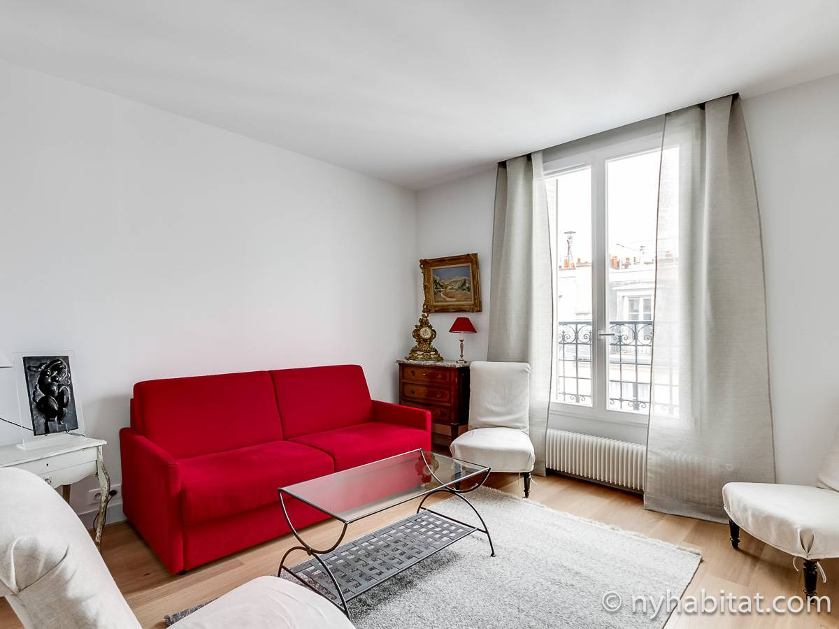 Paris 1 Bedroom accommodation - Apartment reference PA-4685