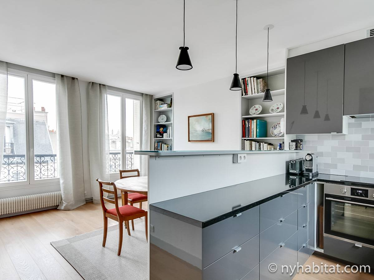 Paris 1 Bedroom accommodation - kitchen (PA-4685) photo 1 of 6