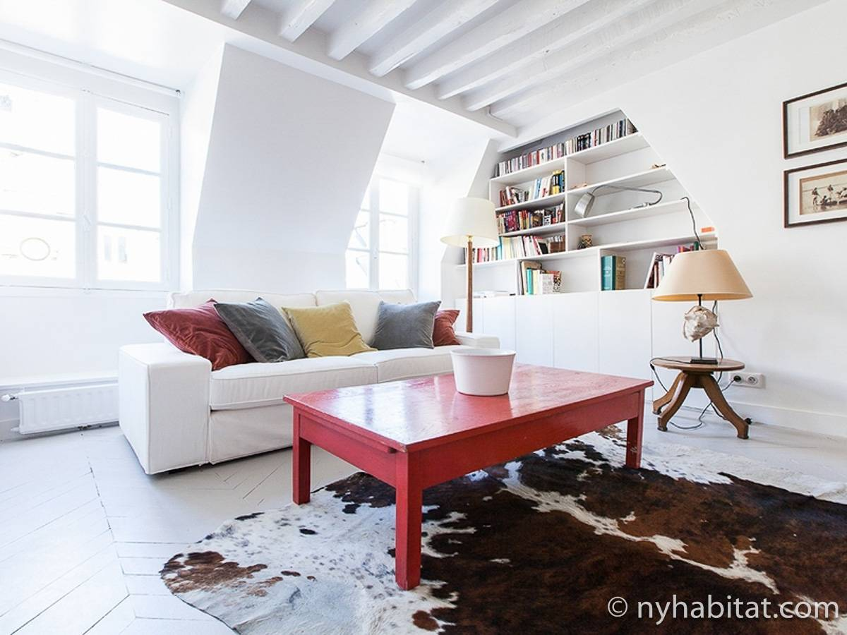Paris - 2 Bedroom accommodation - Apartment reference PA-4689