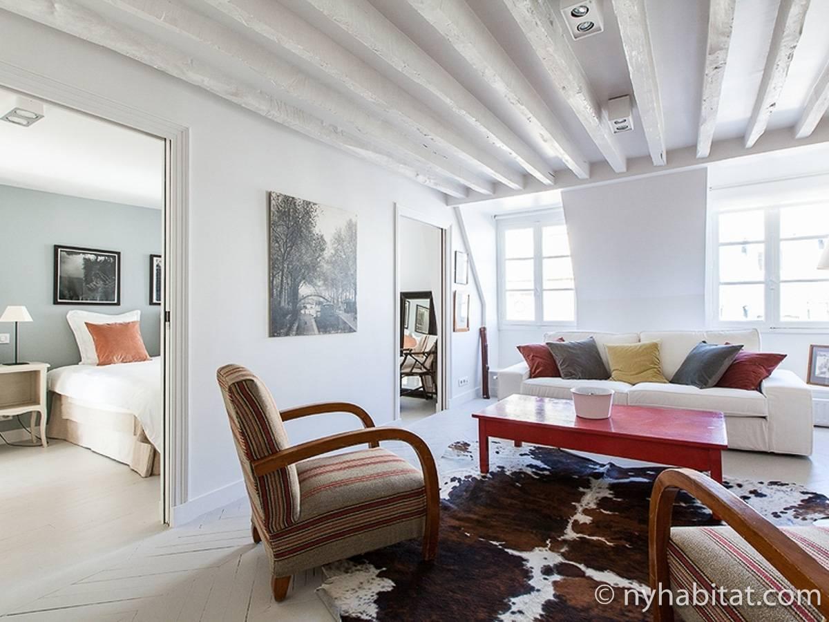 ferienwohnung in paris 3 zimmer madeleine champs. Black Bedroom Furniture Sets. Home Design Ideas