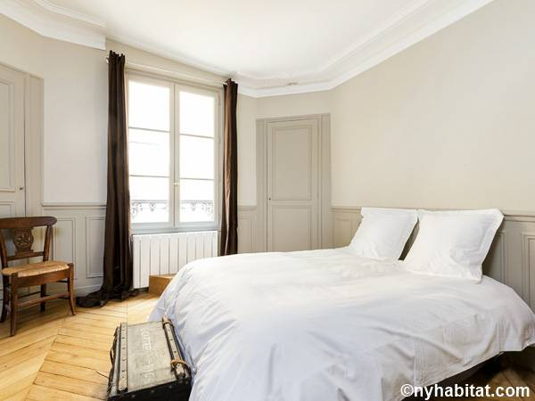 Paris T3 appartement location vacances - chambre 1 (PA-4690) photo 2 sur 2