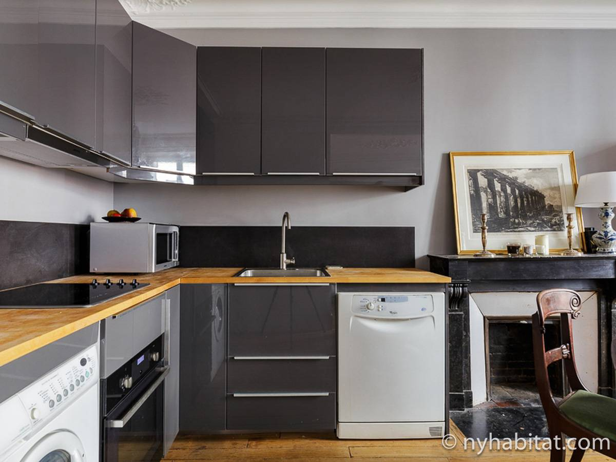 Paris T3 appartement location vacances - cuisine (PA-4690) photo 1 sur 2