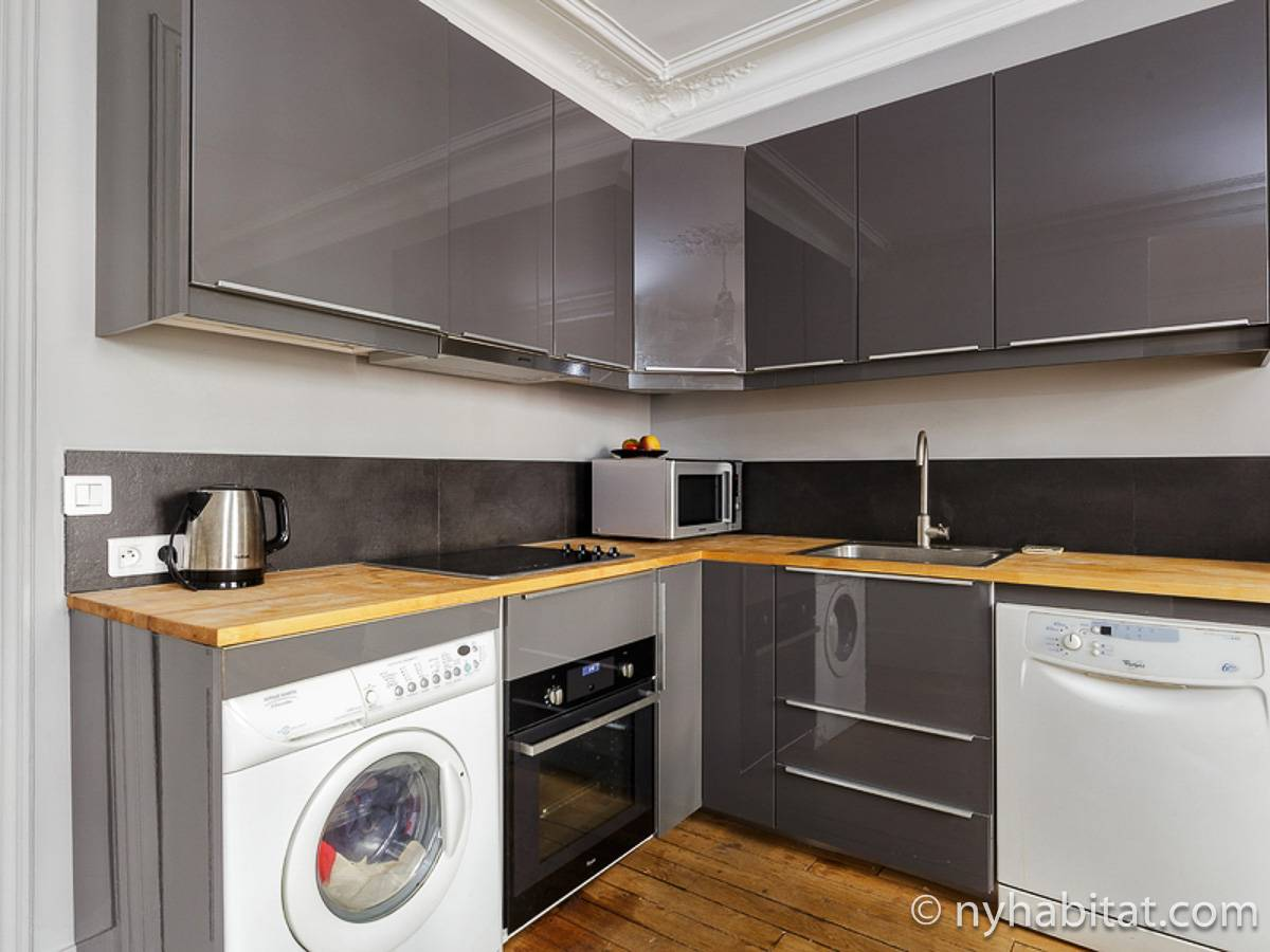 Paris T3 appartement location vacances - cuisine (PA-4690) photo 2 sur 2