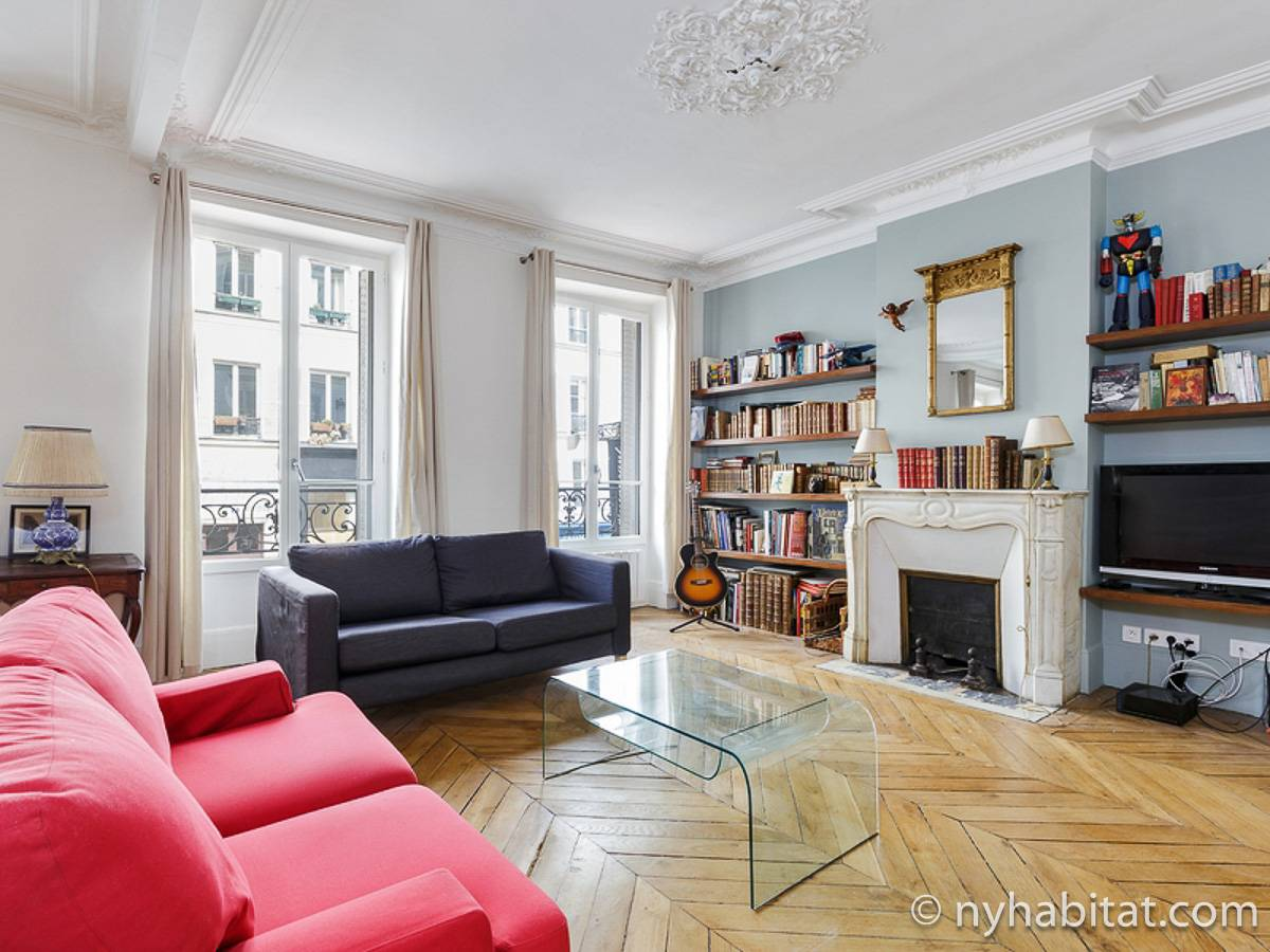 Paris - 2 Bedroom accommodation - Apartment reference PA-4690