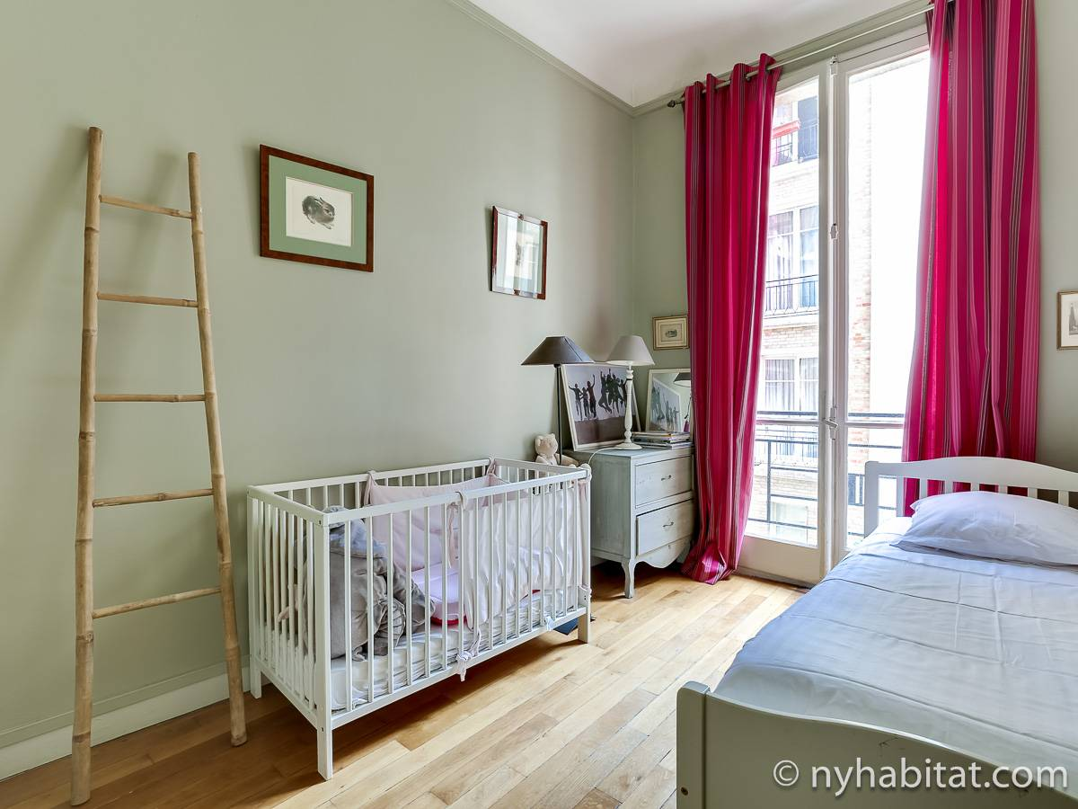 Paris 2 Bedroom accommodation - bedroom 2 (PA-4693) photo 1 of 1