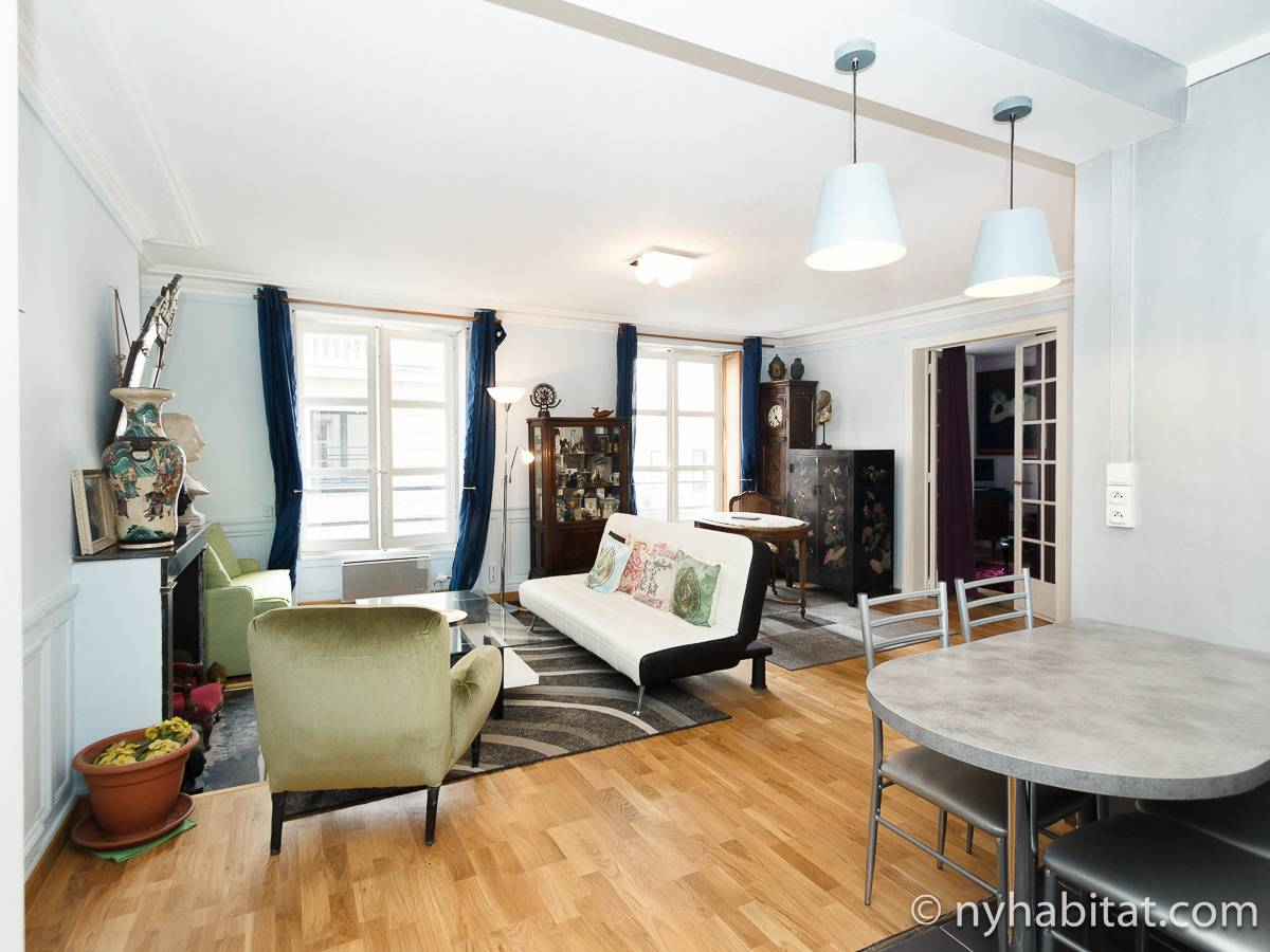 Paris 1 Bedroom accommodation - Apartment reference PA-4696