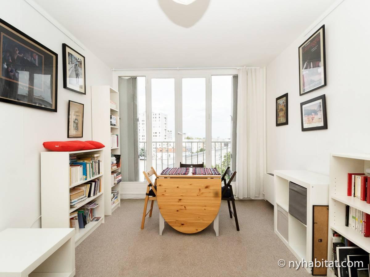 Casa vacanza a parigi 1 camera da letto la villette pa 4715 - Casa vacanza a parigi ...