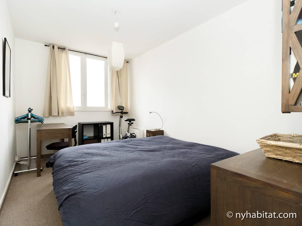 Casa vacanza a parigi 1 camera da letto la villette for Affitti cabina della domenica