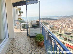 South of France - French Riviera - 1 Bedroom accommodation - bedroom (PR-183) photo 3 of 4