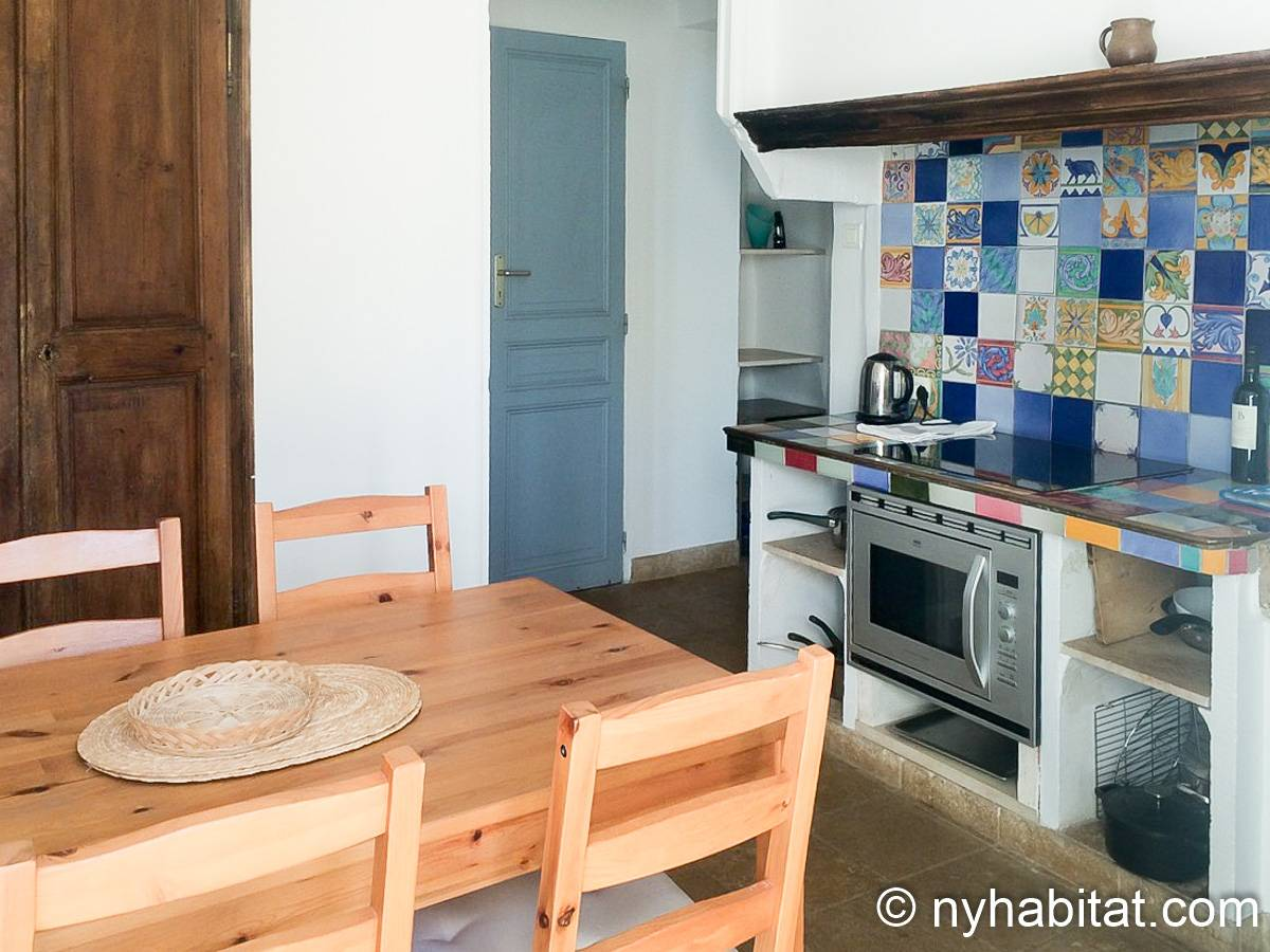 Sud de la France - Provence - Studio T1 logement location appartement - cuisine (PR-249) photo 1 sur 2