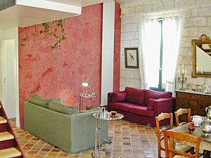 South of France - Provence - 3 Bedroom - Duplex accommodation - living room (PR-273) photo 2 of 8