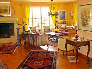 South of France - Provence - 2 Bedroom - Villa accommodation bed breakfast - living room (PR-374) photo 7 of 15
