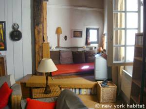 South of France - Provence - 1 Bedroom - Loft apartment - living room (PR-549) photo 4 of 8
