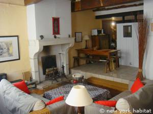 South of France - Provence - 1 Bedroom - Loft apartment - living room (PR-549) photo 5 of 8