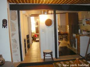 South of France - Provence - 1 Bedroom - Loft apartment - living room (PR-549) photo 6 of 8