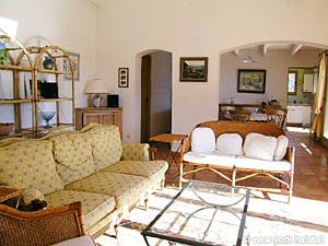 South of France - Provence - 4 Bedroom - Villa accommodation - living room (PR-603) photo 10 of 13